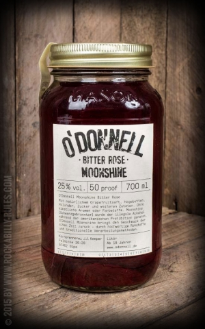 Original ODonnell Moonshine Bitter Rose