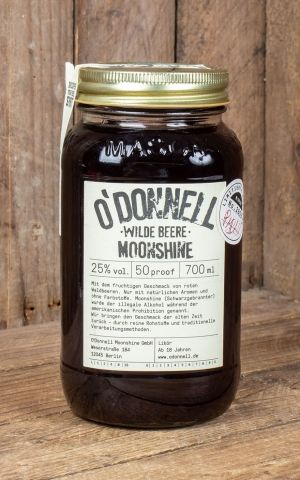 ODonnell Moonshine Wild Berry - Limited Edition