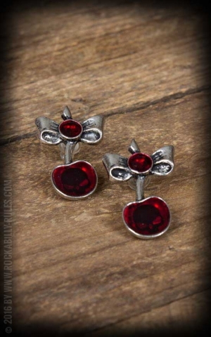 Earring Black Cherry