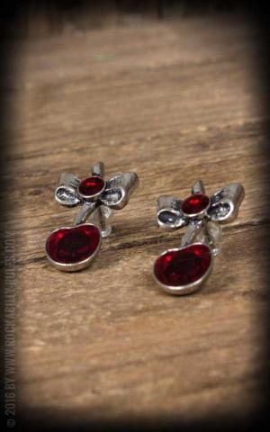 Earring Black Cherry