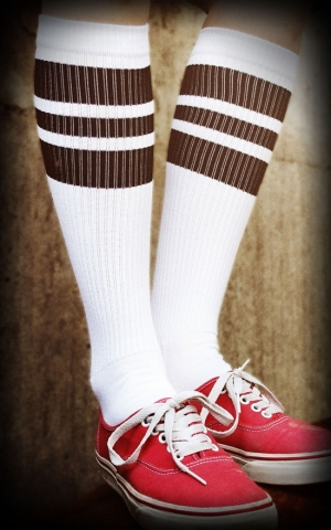 Hi Skatersocken HotRod Oldschoolsocks - The Blacks