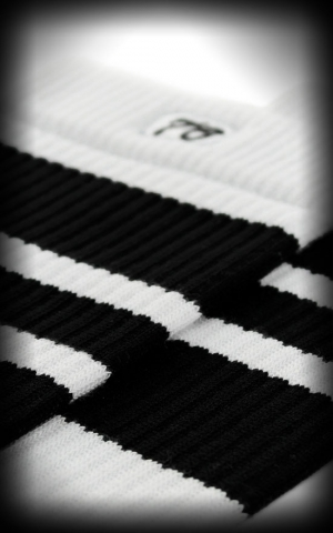 Hi Skatersocks HotRod Oldschoolsocks - The Blacks