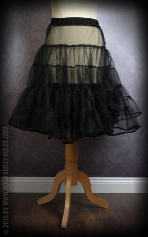 50s PinUp Petticoat - black