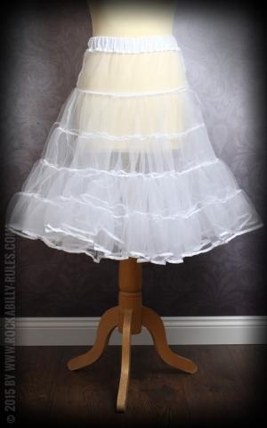 50s PinUp Petticoat - white