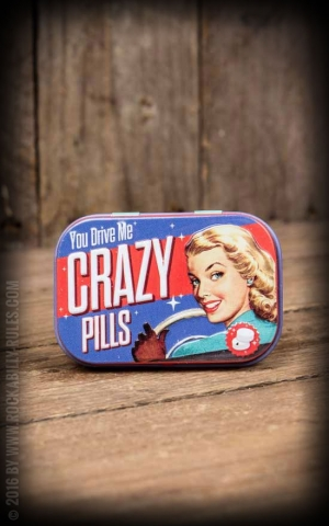 Pillendose PinUp Crazy Pills