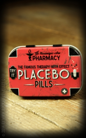 Pillendose Placebo Pills