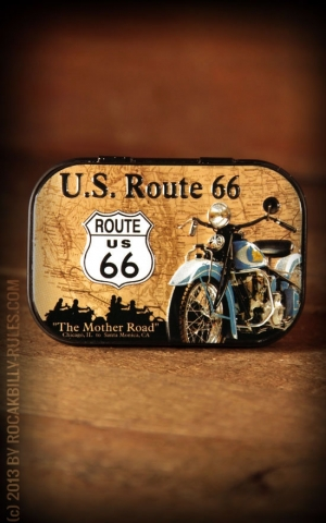 Pillendose Route 66 Map
