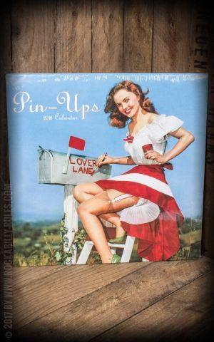 Pin-ups Calendar 2018