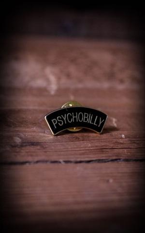 Psychobilly Pin