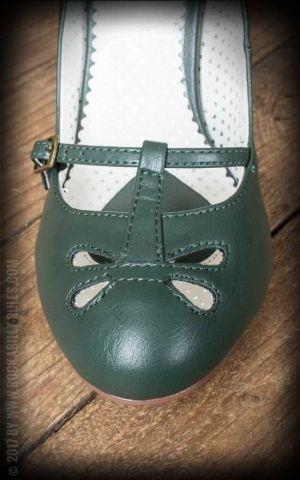 Pleaser - Mary Jane Pumps Smitten-20, grün