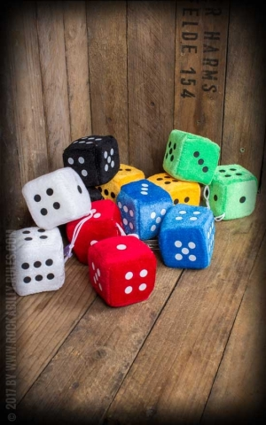 Fuzzy Dice, various designs