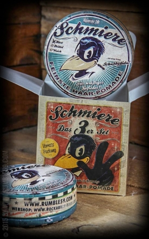 Rumble59 - Schmiere - Triple Set Pomade Strong