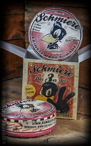 Rumble59 - Schmiere - Triple Set Pomade Brilliance/ Light