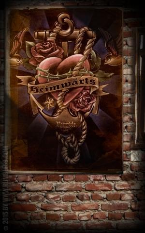 Rumble59 Poster - Heimwärts
