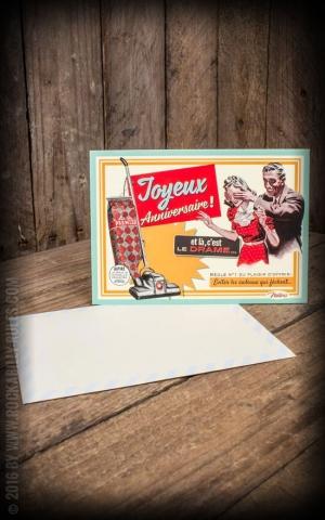 carte postale - Joyeux Anniversaire
