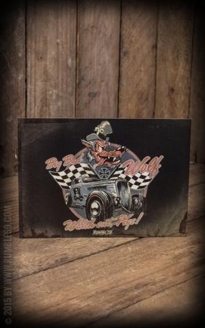 Postcard - Big Bad Wolf