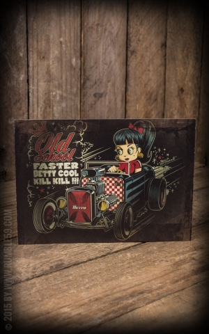 Postcard - Faster Betty by David Vicente