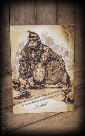 Postcard - Old Silverback Jack