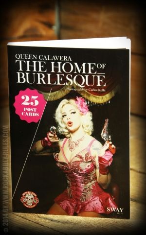 Postkartenbuch Queen Calavera - Home of Burlesque