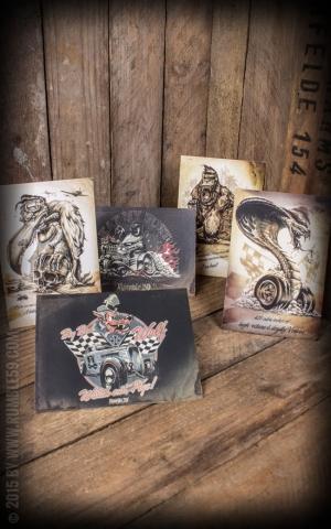 Postcard Set - Rumble59 Rockabilly Beasts