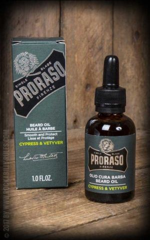 Proraso - Beard Oil Cypress & Vetyver