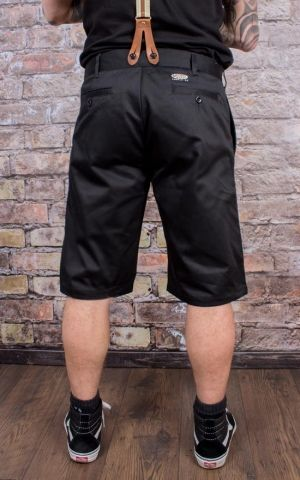Rumble59 - Selvage Chino Shorts California - black