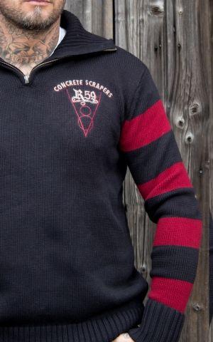 Rumble59 - Racing Sweater - Concrete Scrapers