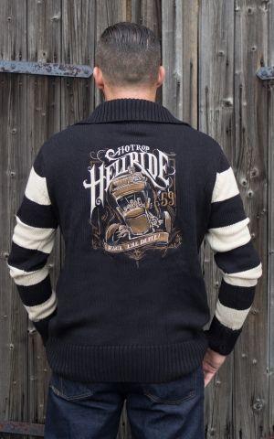 Rumble59 - Racing Sweater - Hotrod Hellride