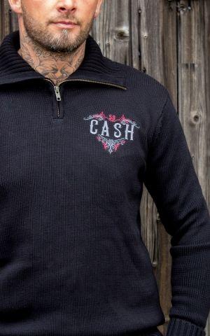 Rumble59 - Racing Sweater - Man in Black