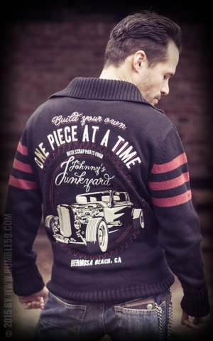 Rumble59 - Racing Sweater - Johnnys Junkyard