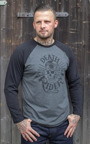 Rumble59 - Raglan Shirt - Death Rider