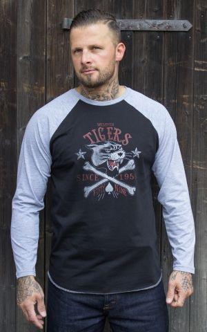 Rumble59 - Raglanshirt - Memphis Tigers - Langarm