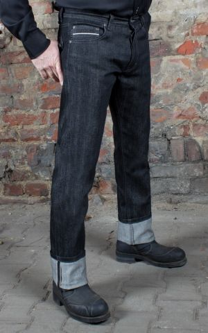 Rumble59 - Raw Black Selvage Denim - Burning Blacktop