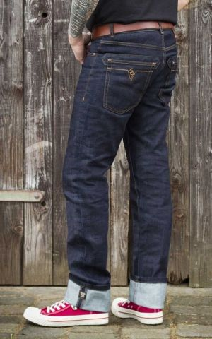 Rumble59 - Raw Denim - Blue Burning Blacktop