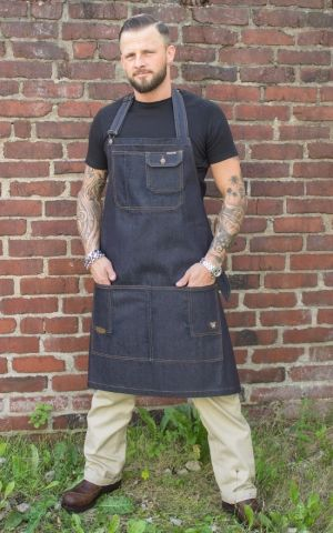 Rumble59 Jeans - RAW Denim Apron