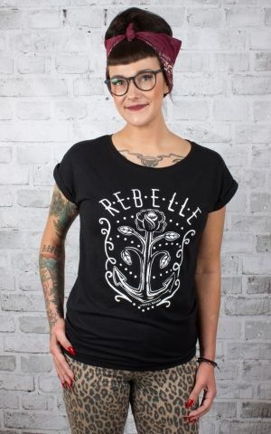 Rebel Rockers Ladies T-Shirt Rebelle