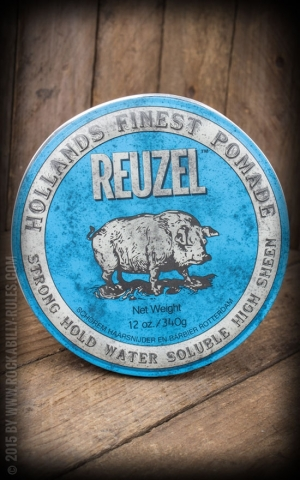 Reuzel Pomade - Strong Hold High Sheen 12oz./340g