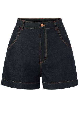Rock-a-Booty 50s Mimi Denim Shorts