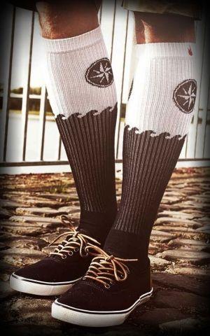 Rockasox - Chaussettes Skate Blanker Hans