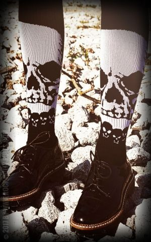 Rockasox - Hi Tube Socks Overlord