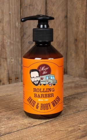 Marc the Rolling Barber Hair and Body Wash