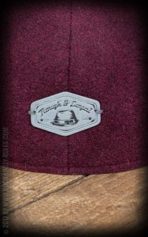 Rough & Loyal - Flatcap Charlie Rose, bordeaux