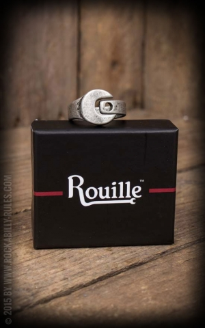 Rouille Ring Heritage RaceRing - Vintage Silver