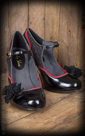 Ruby Shoo - Pin-up Pumps Ashley Noir