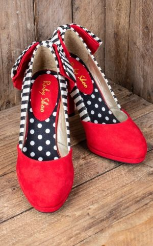Ruby Shoo - Pin- up Pumps Katie