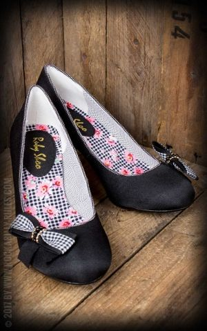 Ruby Shoo - Escarpins Pin-up Lily, noir