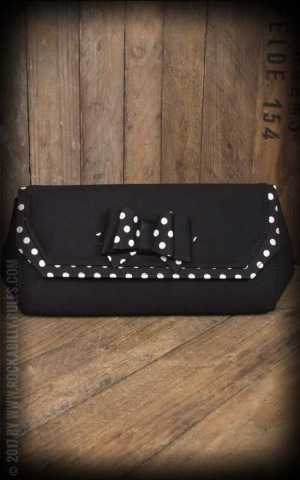 Ruby Shoo - Polka Dot Clutch Brighton