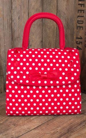Ruby Shoo - Polka Dot Handbag Santiago