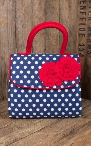 Ruby Shoo - Polka Dot Handbag Tortola