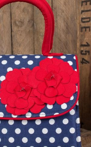 Ruby Shoo - Polkadot Handtasche Tortola